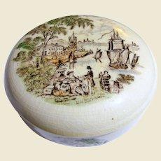 """Vintage """"Safe Harbour"""" Trinket Box by Royal Staffordshire"""