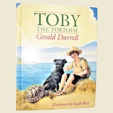 Toby the Tortoise by Gerald Durrell HC Illustrated by Keith West, Like New