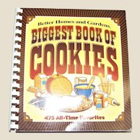 "Better Homes and Gardens ""Biggest Book of Cookies"" - 475 All-Time Favorites, Spiral SC, Like New"
