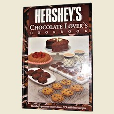Hershey's Chocolate Lover's Cookbook (1993, Hardcover) 1st Edition 1st Printing, Like New