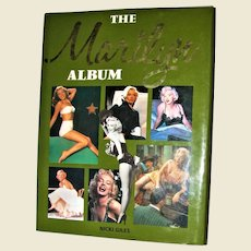 The Marilyn Monroe Album by Nicki Giles HCDJ 1991 First Edition, Second Printing, 600 Photos, Large