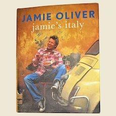 Jamie's Italy by Jamie Oliver HCDJ 1st Edition 1st Printing, Nearly New, International