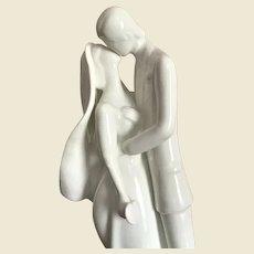 "Royal Doulton ""Wedding Day"" Figurine, Bone China, Pure White HN 2748, Mint!"