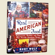 Real American Food: Restaurants, Markets, and Shops Plus Favorite Hometown Recipes, HCDJ Like New
