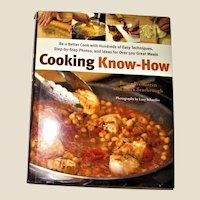 Cooking Know-How HCDJ 1st Edition, 1st printing, Like New