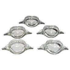 "Five Glassbake ""Crab"" Individual Bakers (2 sets available)"