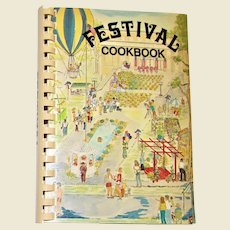 Festival Cookbook - Humphreys Academy, Belzoni MS (1983) 1st Edition Spiral Bound, Like New