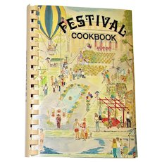 Festival Cookbook - Humphreys Academy, Belzoni MS (1983) 1st Edition Spiral Bound, Like New
