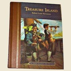 TREASURE ISLAND by Stevenson, Dalmatian Press' Great Classics for Children, Illustrated HC Like New