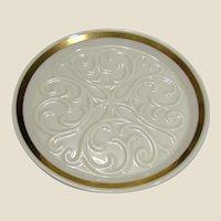 Lenox Cross Design Dish, use for Trinkets, Wedding or Communion