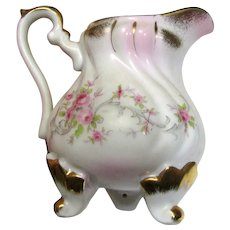 Lefton KF1075 Hand Painted Creamer