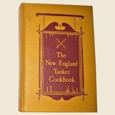 The New England Yankee Cookbook by Imogene Wolcott, 1939 HC 1st Edition, Cookbook, Nearly New