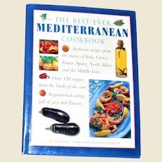 The Best Ever Mediterranean Cookbook by Farrow and Clark HCDJ Like New