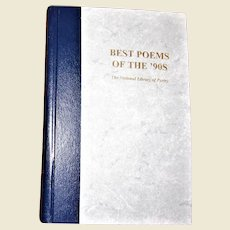 Best Poems of the '90s, The National Library of Poetry, Hardcover, Like New