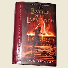 The Battle of the Labyrinth by Rick Riordan, HCDJ 1st Edition