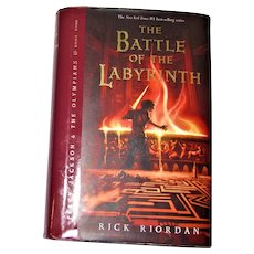 The Battle of the Labyrinth by Rick Riordan, HCDJ 1st Edition