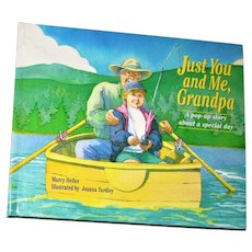 Just You And Me Grandpa POP UP BOOK A Special Day by Marcy Heller, Hardcover, Like New