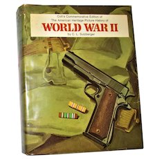 Colt's Commemorative Edition – World War II: A Picture History by C.J. Sulzberger HCDJ