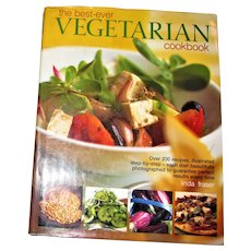 The Best-Ever Vegetarian Cookbook by Linda Fraser HCDJ