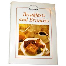 Breakfast and Brunches by Bon Appétit Editors 1983 HCDJ 1st Edition 2nd Printing