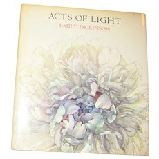 Acts of Light by Emily Dickinson, art by Nancy Ekholm Burkert HCDJ 1980 1st Deluxe Edition, Nearly New