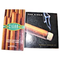 Cigar Handbook - A buyer's guide to the world's finest cigars by Mark Strucklin & The Cigar - An Illustrated History of Fine Smoking by Barnaby Conrad III, HCDJ, Nearly New