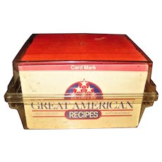 Vintage 650+ Great American Recipes Cards Box Set 1970's