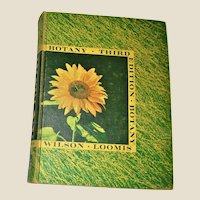 Botany Third Edition- Wilson And Loomis 1962 Hardcover, Home School Course
