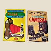 Collector's Guide to Kodak Cameras SC & The Official 1985 Price Guide To Collectible Cameras SC Nearly New