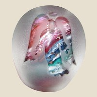 Angel Paperweight by Glass Dimensions of West Virginia