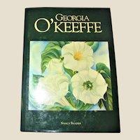 Georgia O'Keeffe by Nancy Frazier, 1990 HCDJ Like New
