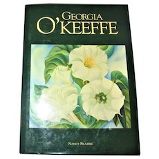 Georgia O'Keeffe by Nancy Frazier, 1990 HCDJ Like New