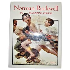 Norman Rockwell: 332 Magazine Covers 1990 1st Edition, Illustrated Large Hardcover w/Dust Jacket, Like New