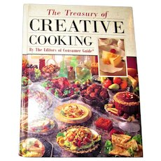 The Treasury of Creative Cooking by the Editors of Consumer Guide Cookbook 1992 HC 1st Edition 1st Printing, Nearly New