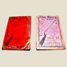 Vintage Promotional Hand-mirror, The King Air Rifle