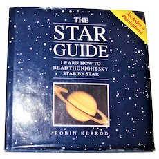 The Star Guide by Robin Kerrod – Planisphere Included HCDJ 1993 1st Edition, 1st Printing