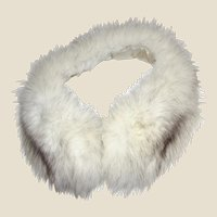 Luxuriant Fox Fur Collar w/ Silk Lining