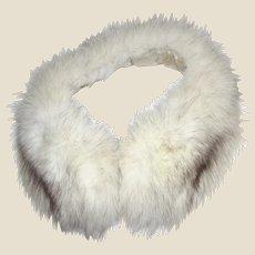 Luxuriant Fox Fur Collar w/ Silk Lining