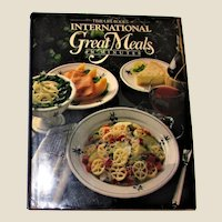 International Great Meals in Minutes HCDJ 1986 Nearly New, 1st Edition