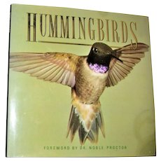 Hummingbirds by James McCarter; Noble S Proctor, Published by Dorset Press NY, ©1989, 1st US Edition. Nearly New