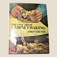 The Fine Art of Cabinetmaking by James Krenov 1977 HCDJ 1st edition 7th Printing, Nearly New