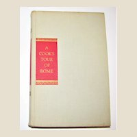 Cook's Tour of Rome: Best Roman Food and Where to Find It, HC 1964