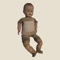P50 Ideal Baby Doll Made in U.S.A, Early Plastic Type