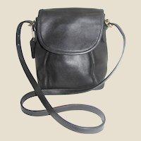 Vintage Coach Soho Small Black Shoulder or Crossbody Bag #4108