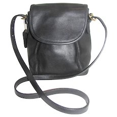 Vintage Coach Soho Small Black Shoulder or Crossbody Bag #4108