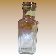 Delightful 4711 Antique Cologne Bottle with Original Stopper