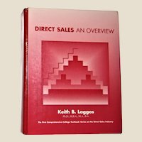 Direct Sales An Overview by Keith Laggos HC 1998 1st Edition, VG