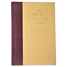 The Seven Spiritual Laws of Success: A Practical Guide to the Fulfillment of Your Dreams, HC 1994 1st Edition 3rd Printing, Nearly New