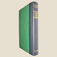 Drive for the Green by Anthony Tuttle : a Novel About the Professional Golf Tour HC 1969 1st Edition, Nearly New