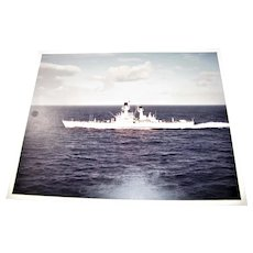 Russian Frigate / Destroyer (Unknown) circa 1980's Excellent 8x10